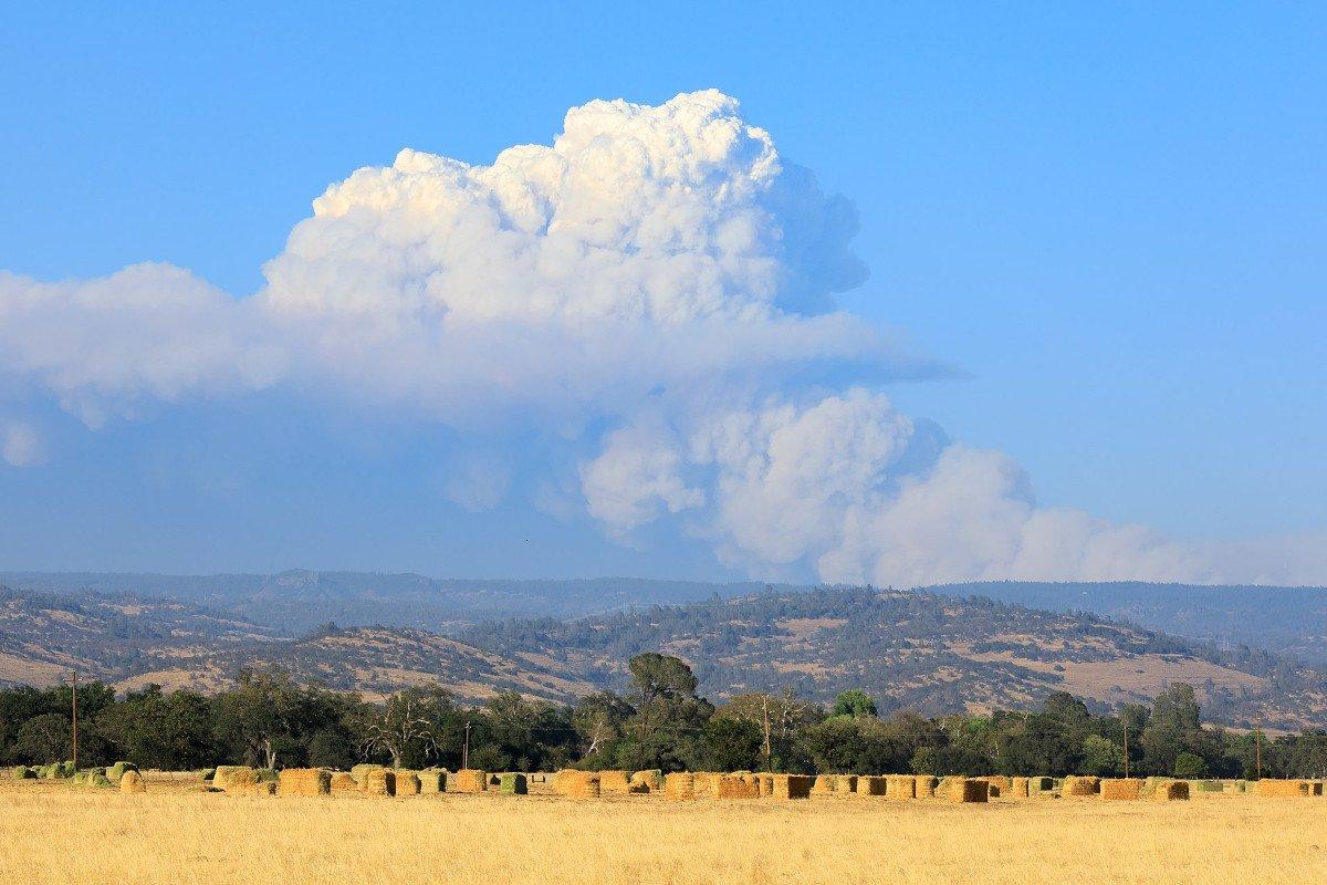 le pyrocumulus en Californie